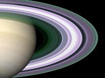 """´Cassini""""-Sonde sendet detaillierte Bilder der Saturn-Ringe, 2005"""