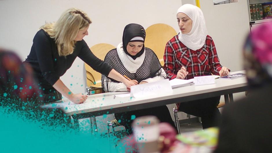 Flüchtlinge in Deutschland - Integrationskurs