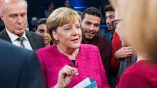 ZDF-Sendung 'Klartext, Frau Merkel!'