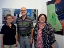 Forstinning, Galerie im Tiermuseum, Galeristin Renate Block, Helga Katrin Stano und Ehemann Horst Stano