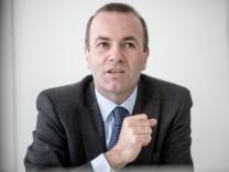 EVP-Fraktionsvorsitzender Manfred Weber