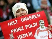 Lukas Podolski 1. FC Köln FC Bayern München