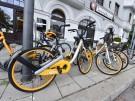 Obike-Leihfahrräder in München
