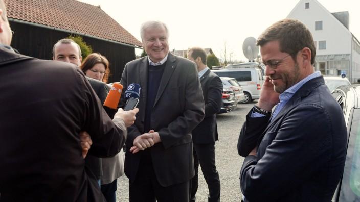 CSU-Wahlkampfveranstaltung mit Guttenberg