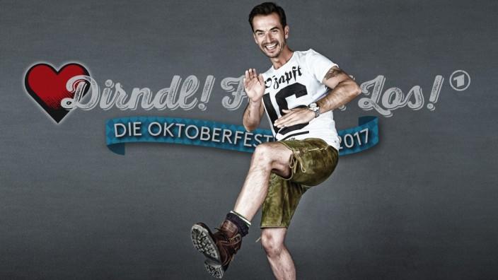 """DIRNDL FERTIG LOS DIE OKTOBERFESTSHOW 2017; """"Dirndl! Fertig! Los!"""", ARD, Florian Silbereisen"""