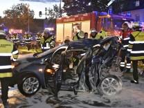 Unfall Wasserburger Landstraße