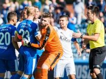 Jena Deutschland 16 September 2017 3 Liga 17 18 FC Carl Zeiss Jena vs SV Meppen Rudelbildung