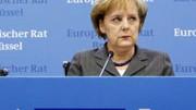 Mit dem Gipfel-Ergebnis zufrieden: Kanzlerin Merkel