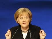 Angela Merkel bei Rede auf CDU-Parteitag, Reuters