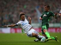 16 09 2017 Fussball 1 Bundesliga 2017 2018 4 Spieltag SV Werder Bremen FC Schalke 04 im Wese