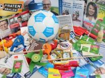 Wahlwerbung der Bundestagskandidaten