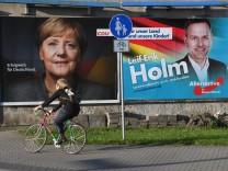 Wahlplakate - Bundestagswahl 2017 - CDU - AfD