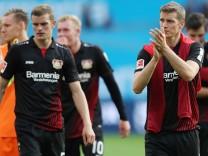 firo :  17.09.2017 Fußball,  Saison 2017/2017 1.Bundesliga: Bayer Leverkusen - SC Freiburg
