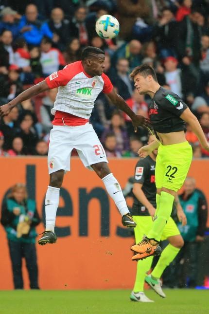 20170909 1 BL FC Augsburg vs 1 FC Koeln WWK Arena Augsburg Fussball im Bild Sergio Cordova FC