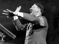 Hitler als Redner im Sportpalast 1936