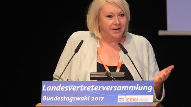 Landesvertreterversammlung der CDU Mecklenburg Vorpommern am Sonnabend 25 02 2017 in der Alten Bra