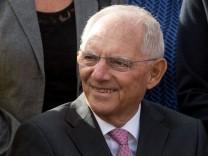 75. Geburtstag von Wolfgang Schäuble