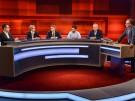 Hart aber fair, ARD,v.l.n.r. Cem Özdemir, Alice Weidel, Nikolaus Blome, Omid Saleh, Joachim Herrmann, Frank Plasberg