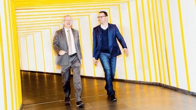 Volker Beck Volker Beck und Jens Spahn im Interview