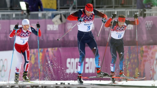 Feb 22 2014 Sochi Krasnodar Krai Russia Russia s ALEXANDER LEGKOV 3 M Vylegzhanin 7