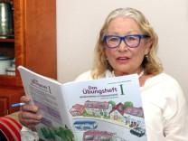 Angela Böhm unterrichtet Flüchtlingskinder
