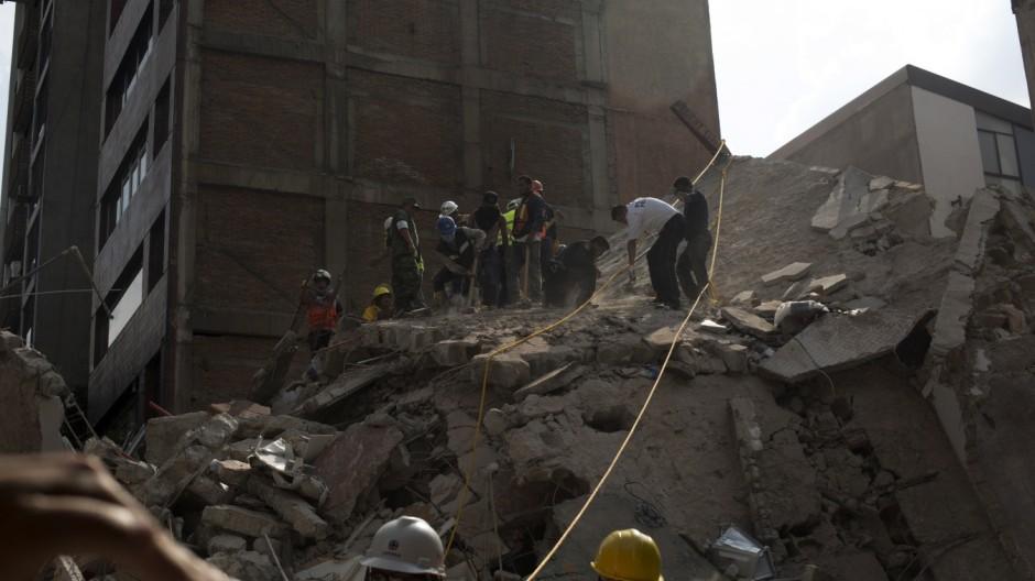 Erdbeben in Mexiko reißt mehr als 250 Menschen in den Tod