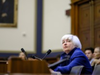 Federal Reserve Board Chairwoman Janet Yellen Testifies To House Financial Committee On State Of Economy