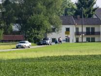 B304 Vollsperrung Eglharting-Kirchseeon
