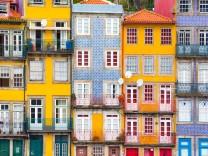 Ribeira, the old town of Porto, Portugal; Porto Portugal