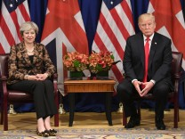 Theresa May besucht die USA