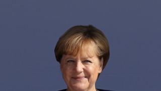 Merkel Campaigns In Binz On Ruegen Island
