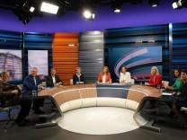 'Schlussrunde' von ARD und ZDF zur Bundestagswahl
