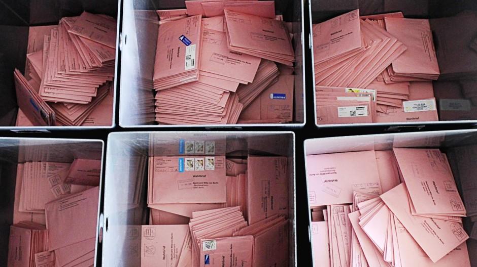 Berliner stellen so viele Briefwahlantraege wie noch nie