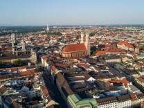Architekturspaziergang Innenstadt Frauenkirche Luftbild Drohne