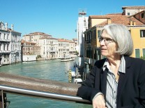 US best-selling author Donna Leon poses