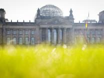 Bundestag vor Bundestagswahl