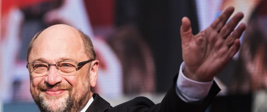 SPD-Wahlkampf mit Kanzlerkandidat Schulz in Hannover