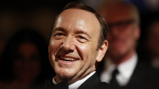Actor Spacey listens to remarks at the White House Correspondents Association Dinner in Washington