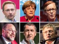 Kandidaten Bundestagswahl München 4:3