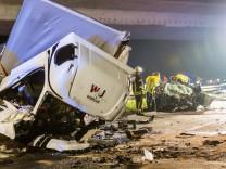 Drei Tote bei Unfall mit Geisterfahrer
