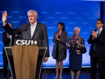 Election Night: Bavarian Christian Democrats (CSU)