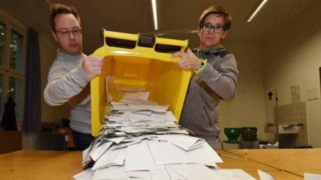 Süddeutsche Zeitung München Hohe Wahlbeteiligung