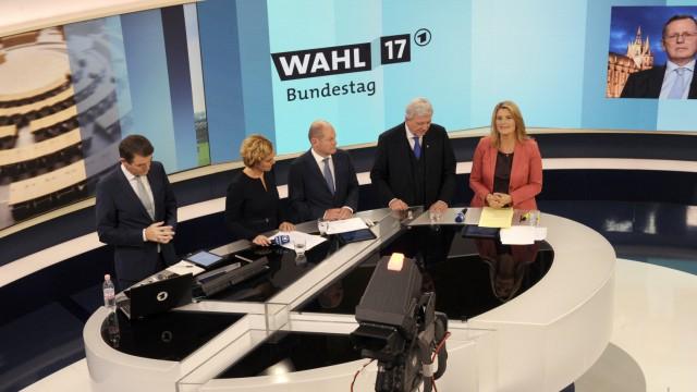 Wahl 2017: Bundestagswahl 2017; Bundestagswahl Fernsehen ARD