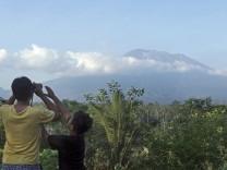 Zweithöchste Warnstufe für Vulkan auf Bali