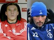 Lukas Podolski und Kevin Kuranyi