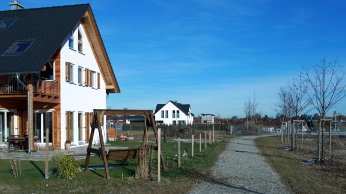Neubaugebiet in Emmering, 2012