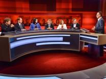 Titel: 'Die gerupfte Kanzlerin âē wie regieren nach dem Debakel der Volksparteien? '; Plasberg