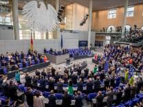 Letze Bundestagssitzung vor der Wahlen