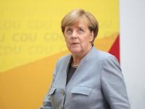 Nach der Bundestagswahl - CDU