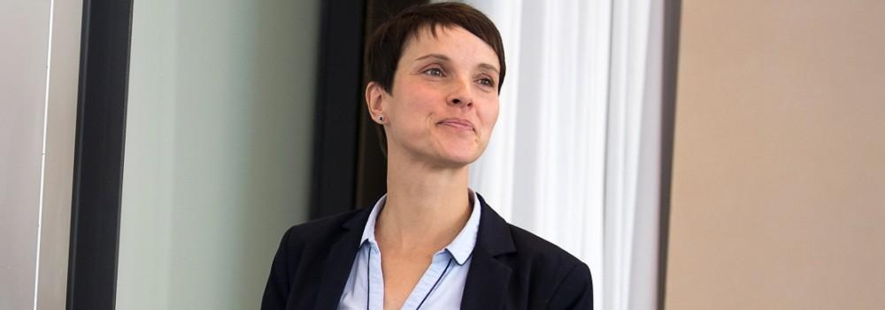 Landtags-PK mit Frauke Petry